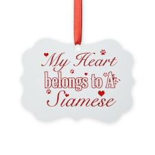 Siamese Ornament