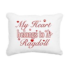 Ragdoll Rectangular Canvas Pillow