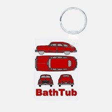 BathTub design Keychains