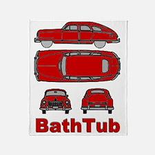 BathTub design Throw Blanket