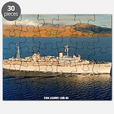 jason framed panel print Puzzle