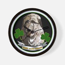 IRISH-WOLFHOUND-TEE-ETC Wall Clock