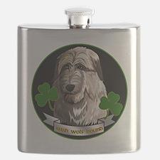 IRISH-WOLFHOUND-TEE-ETC Flask