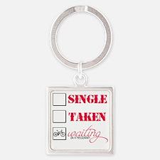 singlewaiting Square Keychain