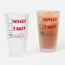 singlewaiting Drinking Glass