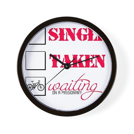 singlewaiting Wall Clock