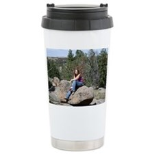 Dana on Rock Travel Mug