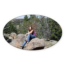 Dana on Rock Decal