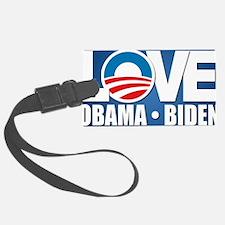 LOVE Obama Biden Luggage Tag