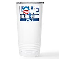 LOVE Obama Biden Travel Mug
