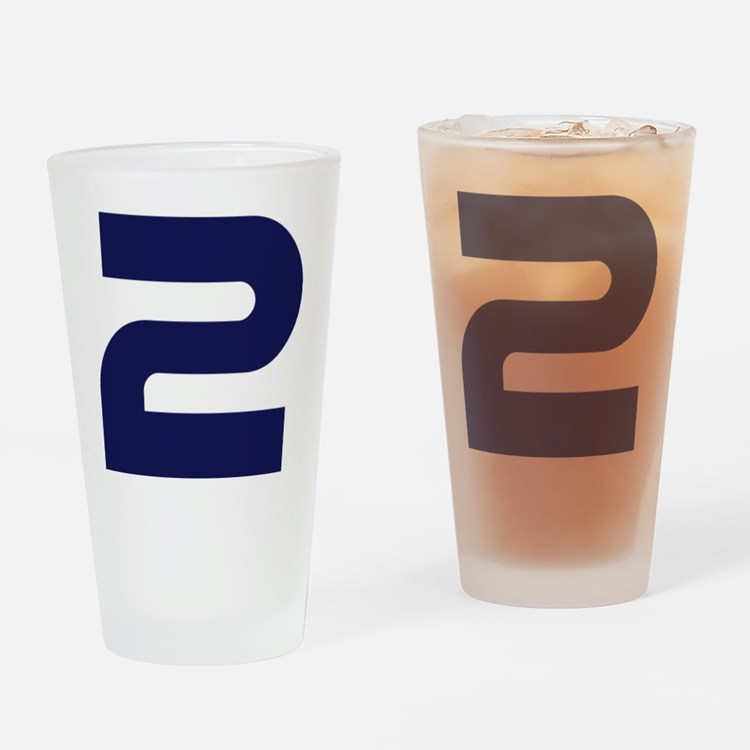 number_2 Drinking Glass