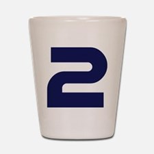 number_2 Shot Glass