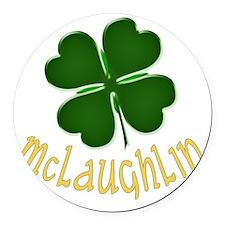 McLaughlin Round Car Magnet