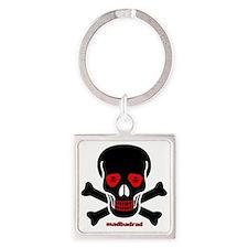MBR RedEye Skull Skull Eyes 6000 Square Keychain
