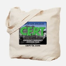 CERT-rectangle-logo-with-url Tote Bag