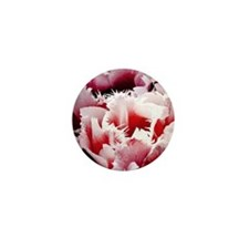 pink tulip charm copy Mini Button