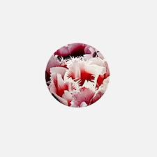 pink tulip charm copy Mini Button