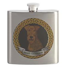 CELTIC-IRISH-TERRIER Flask