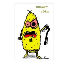 ornery corn big color Postcards (Package of 8)
