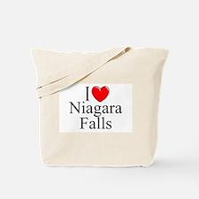 """I Love Niagara Falls"" Tote Bag"