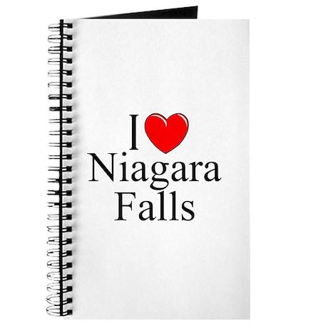 """I Love Niagara Falls"" Journal"