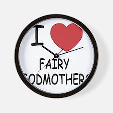 FAIRY_GODMOTHERS Wall Clock