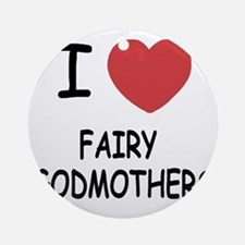 FAIRY_GODMOTHERS Round Ornament