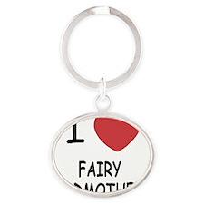 FAIRY_GODMOTHERS Oval Keychain