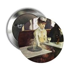 "Edgar Degas AbsintheSC 2.25"" Button"