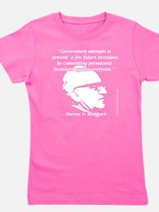 Murray N. Rothbard - Government Girl's Tee