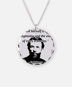 Carl Menger - The Economy Necklace