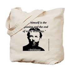 Carl Menger - The Economy Tote Bag