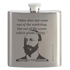 Eugen von Bohm Bawerk - Value Flask