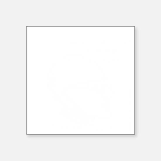"Murray N. Rothbard - Govern Square Sticker 3"" x 3"""