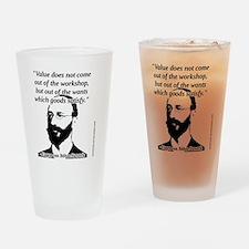 Eugen von Bohm Bawerk - Value Drinking Glass