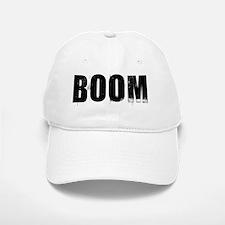 boom Baseball Baseball Cap