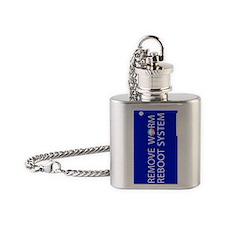 ReBoot_G3_Vert Flask Necklace