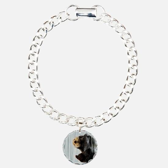 TabletSleeve_seaotter_2 Charm Bracelet, One Charm
