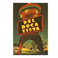 """""""Del Boca Vista"""" Sign Postcards (Package of 8)"""