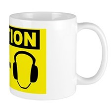 Caution-EAR-PROTECTION-REQUIRED Mug