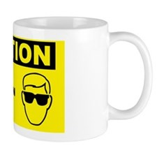 Caution-EYE-PROTECTION-REQUIRED Mug