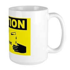 Caution-CORROSIVE-MATERIA-WEAR-PROTECTI Mug
