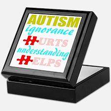 Autism understanding helps Keepsake Box