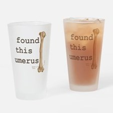 Humerus Drinking Glass