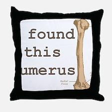 Humerus Throw Pillow