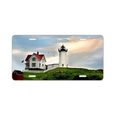 Nubble Lighthouse Aluminum License Plate