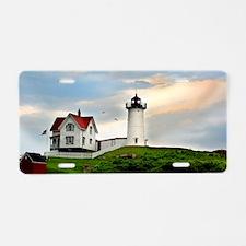 Nubble Lighthouse Aluminum License Plate
