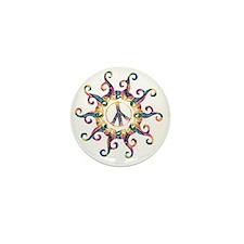 Hippy Sun - Delight Mini Button