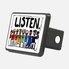 Listen Hitch Cover