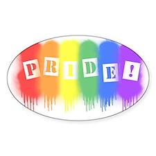 Pride - spray paint Decal